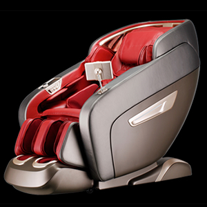 Adriatica Massage Chair Black-Red